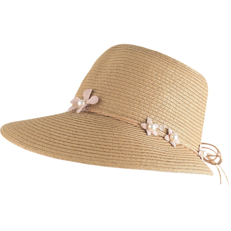 Platanitos U48-9a Marron Sombreros para el sol