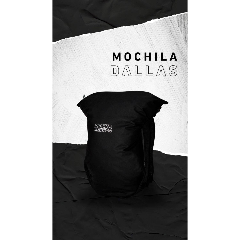 ROCK & RELIGION DALLAS Negro mochilas