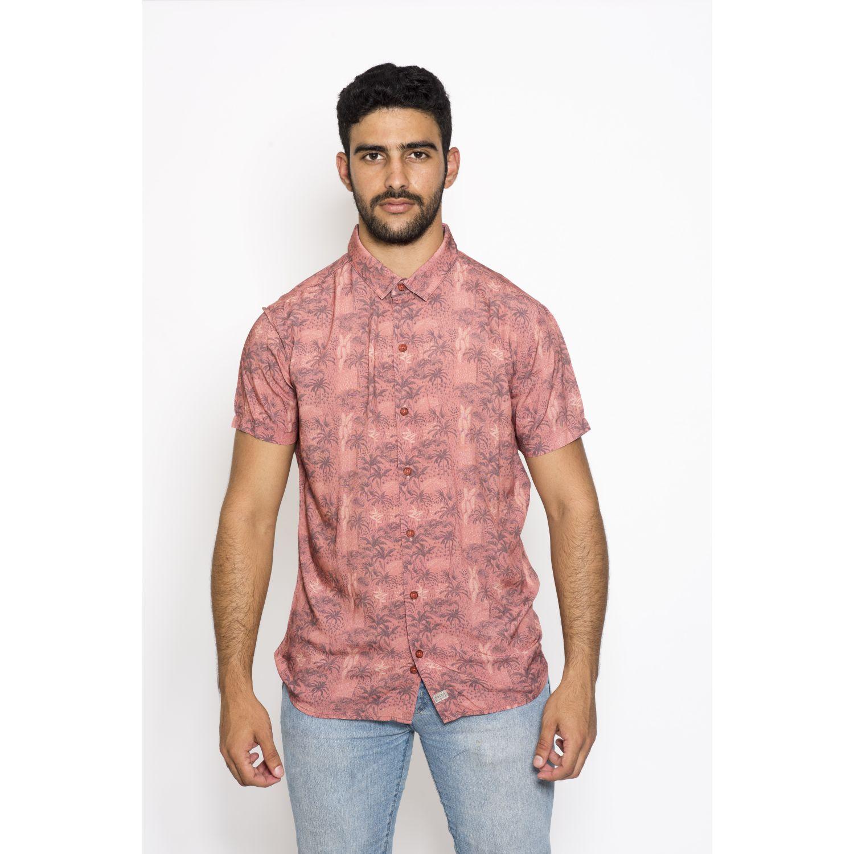 ROCK & RELIGION Ark Coral Camisas de botones