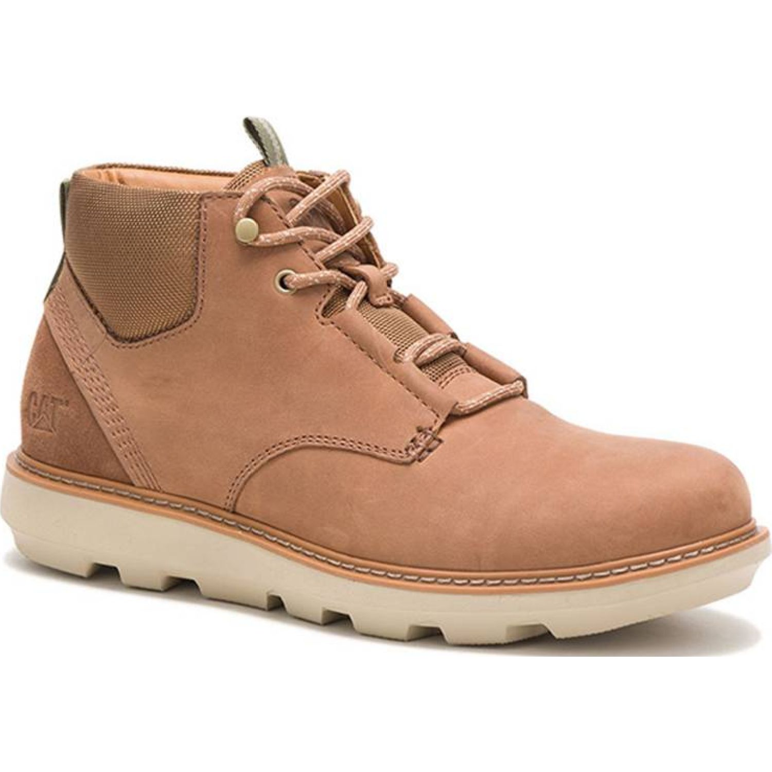CAT Brusk Lace Tan Oxford & Derby
