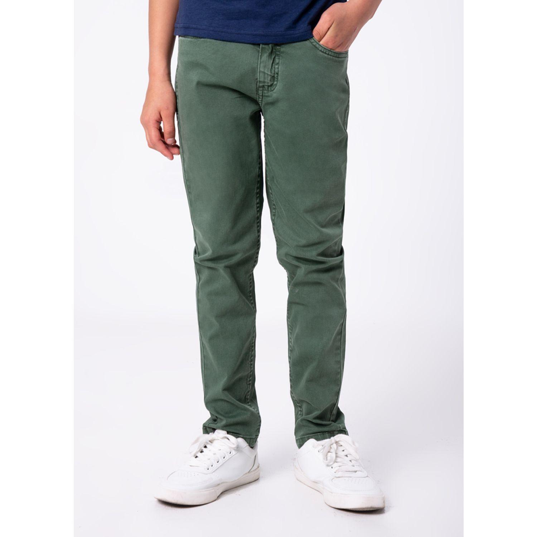 PIONIER Adriano Verde Pantalones