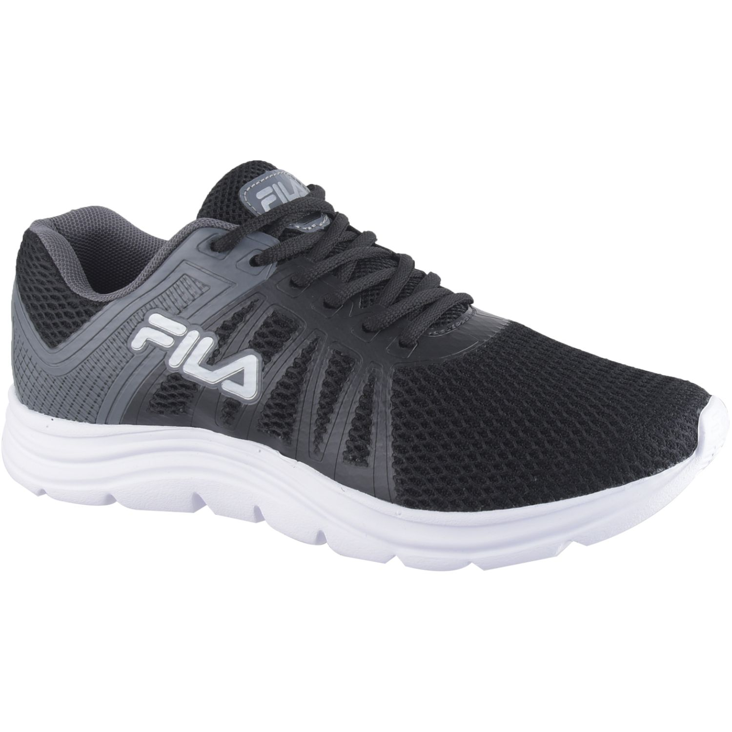 Fila tenis fila finder masculino Negro / plomo Walking
