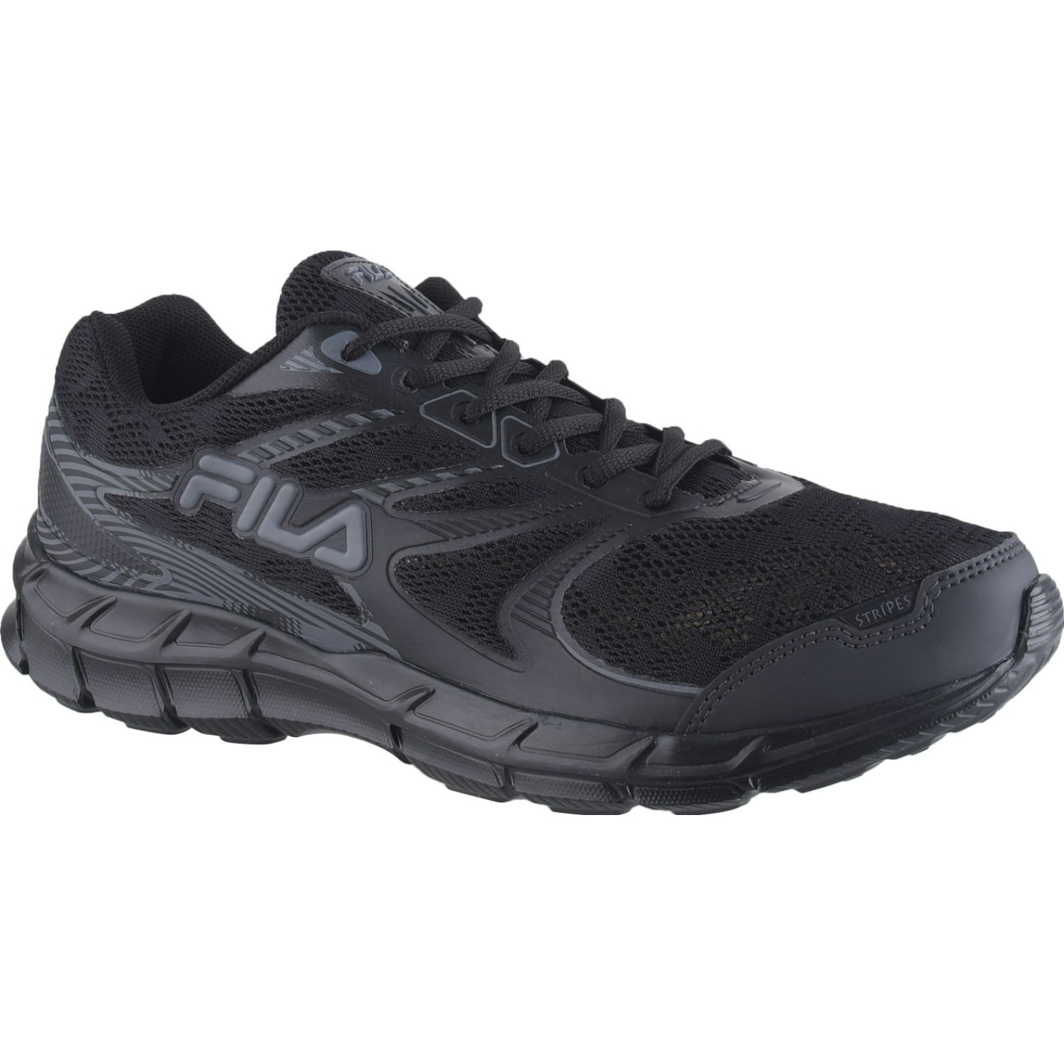 Fila FILA STRIPES 2.0 Negro / negro Walking