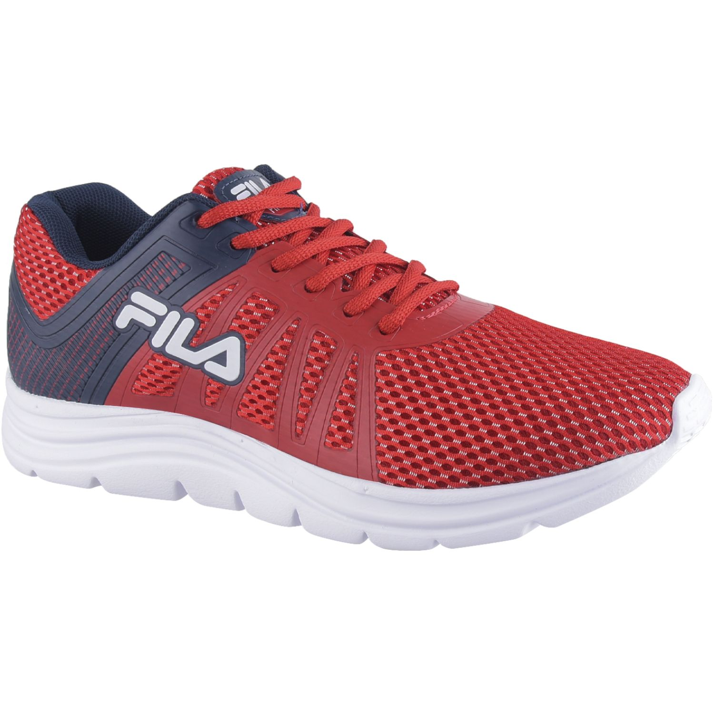 Fila tenis fila finder masculino Rojo / azul Walking