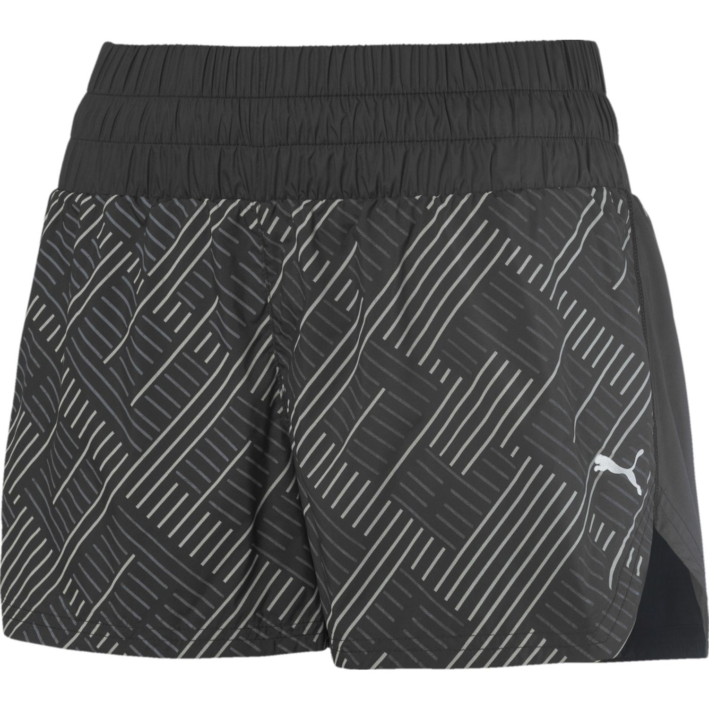Puma Last Lap 3 pulg. Graphic Short Negro Shorts Deportivos