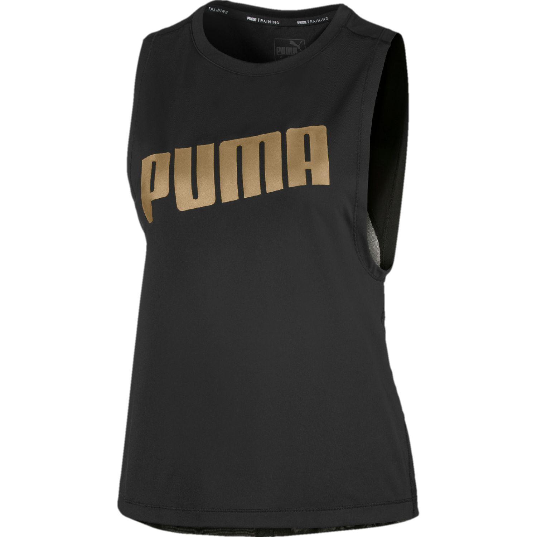 Puma Metal Splash Adjustable Tank Negro / dorado Tank Tops