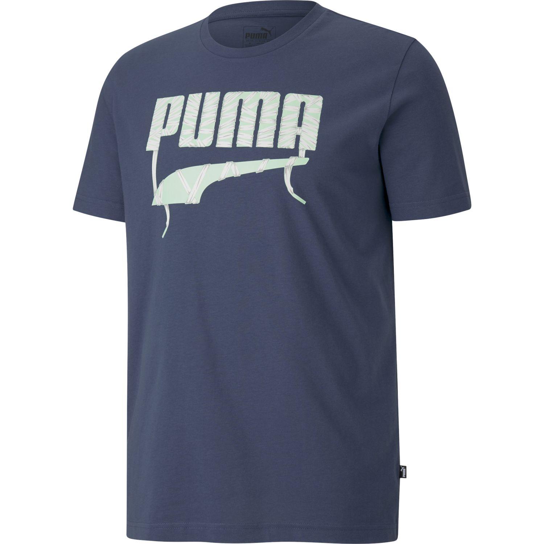 Puma Puma Lace Graphic Tee Acero Camisetas y Polos Deportivos