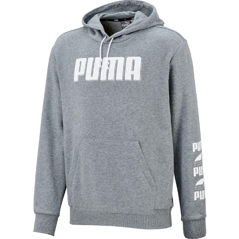 Puma rebel bold hoody tr Gris Hoodies Deportivos
