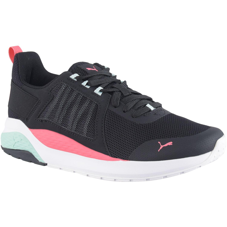 Puma anzarun Negro / rosado Running en pista