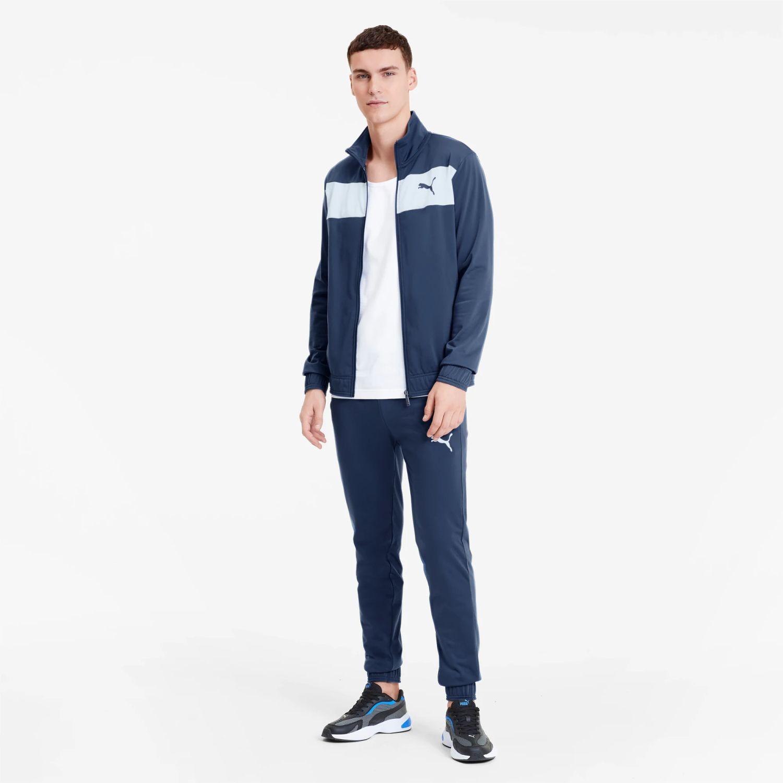 Puma techstripe tricot suit cl Navy / Blanco Buzos Deportivos