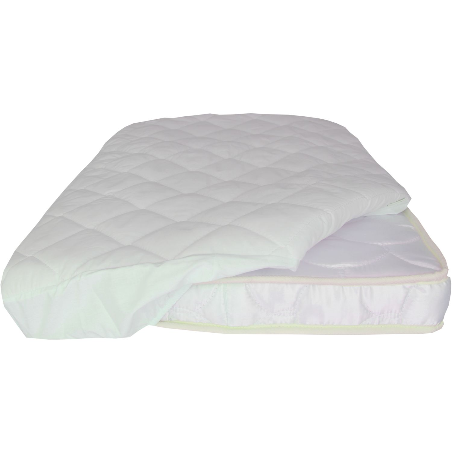 MATERNELLE Protector Impermeable Para Cama Cuna Blanco Cubrecolchones