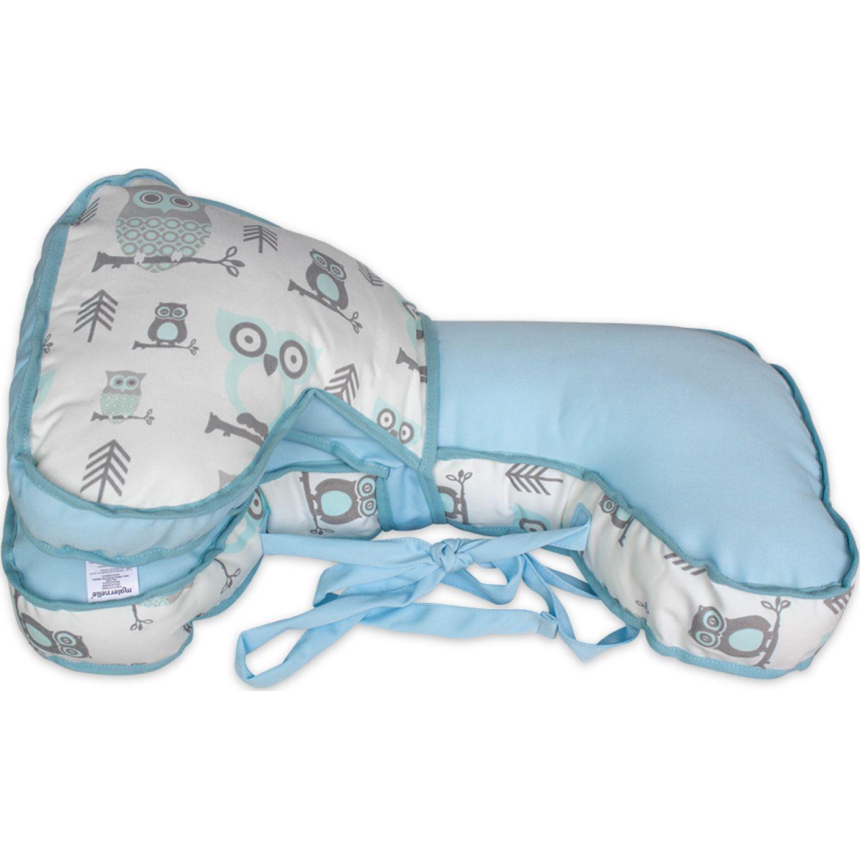 MATERNELLE Doble Almohada De Lactancia Celeste Cojines de lactancia