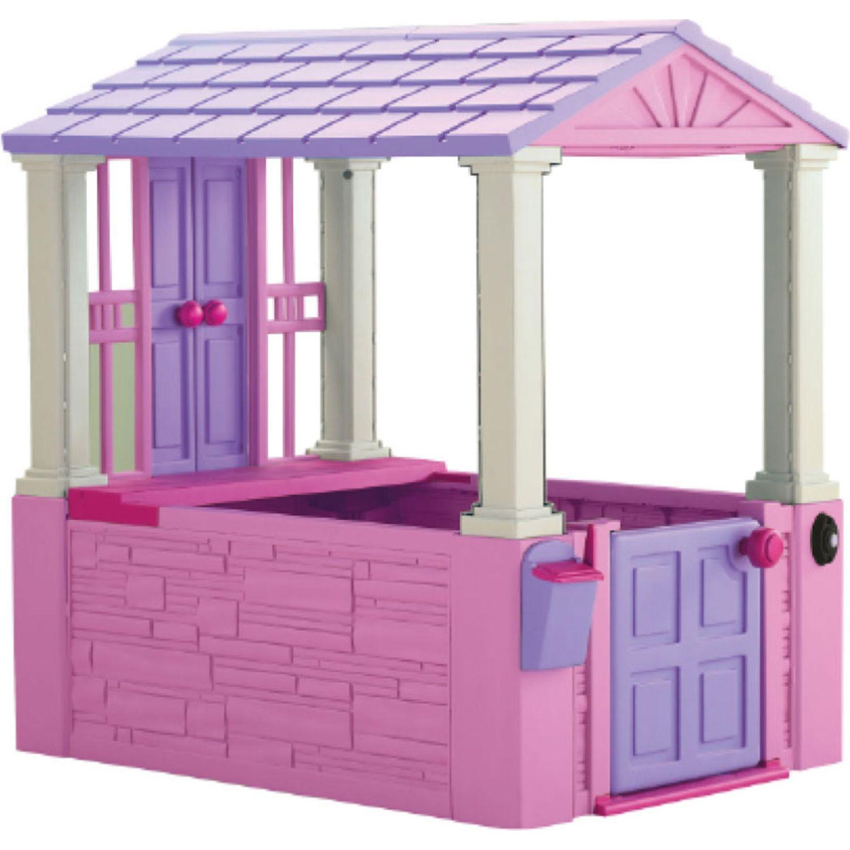 AMERICAN PLASTIC TOYS Mi primera casita rosada Rosado casas de muñecas