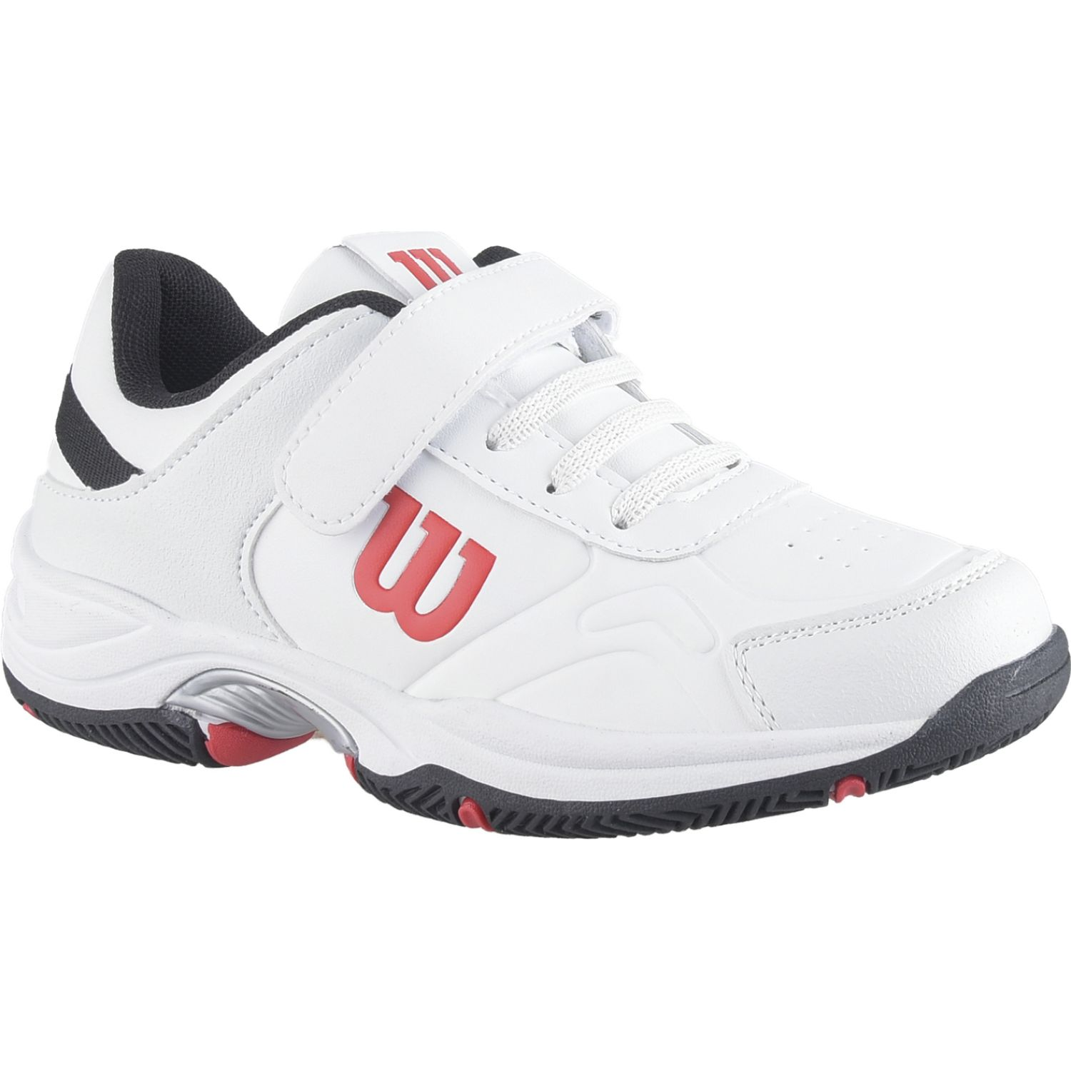 Wilson set tennis ftw whbk jr Blanco / azul Walking