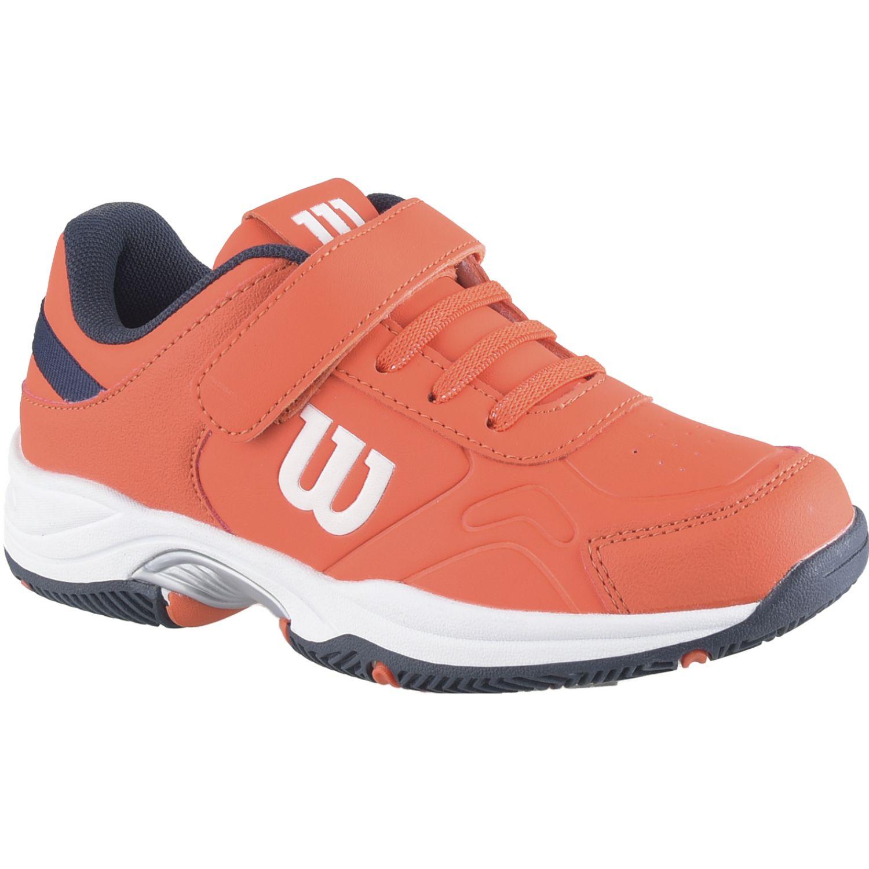 Wilson SET TENNIS FTW TGNV JR Naranja / azul Walking