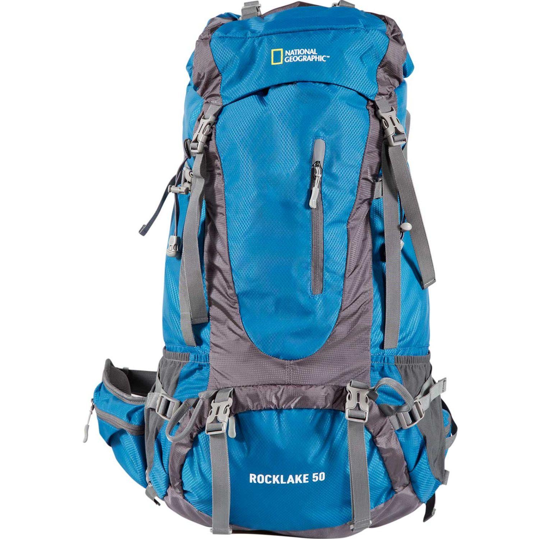 NATIONAL GEOGRAPHIC mochila rocklake 50 litros Azul / gris Mochilas Multipropósitos
