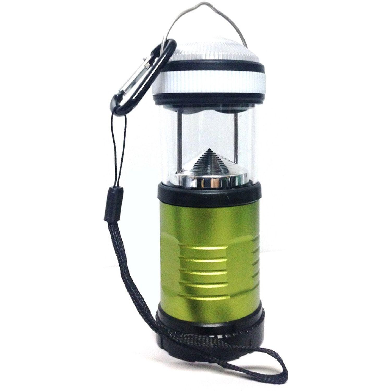 NATIONAL GEOGRAPHIC Lámpara Camper Verde Verde / negro Linternas