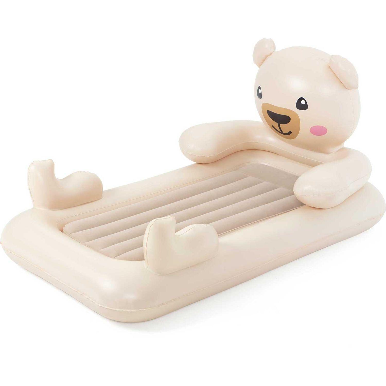 BESTWAY cama soñadora osito teddy Crema colchones de aire