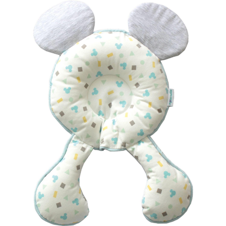 Mickey SOPORTE DE CABEZA MELANGE Celeste almohadas