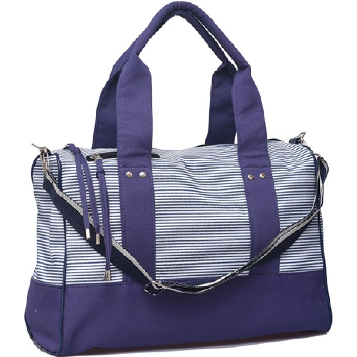 MATRIONA Bolso Luxury Azul / blanco Totes