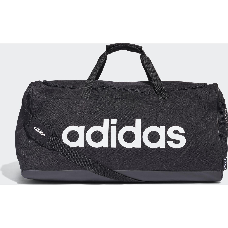 Adidas lin duffle l Negro Duffels deportivos