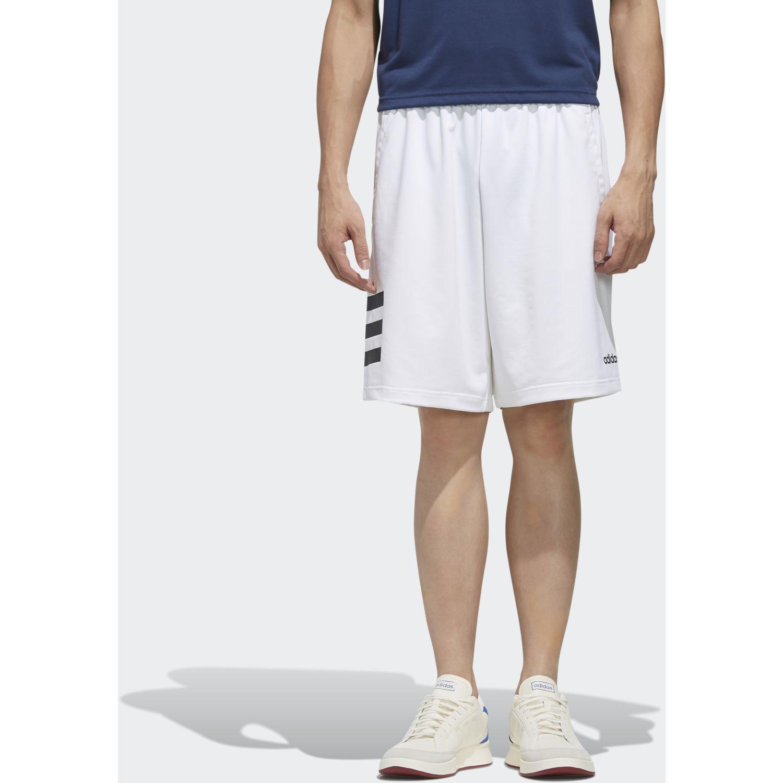 Adidas m d2m 3s sht Blanco Shorts Deportivos