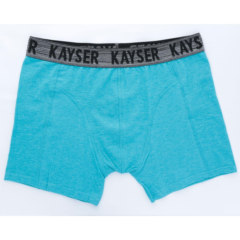 Kayser BOXER COTTON LYCRA MELANGE 93.300 TURQUESA Boxers