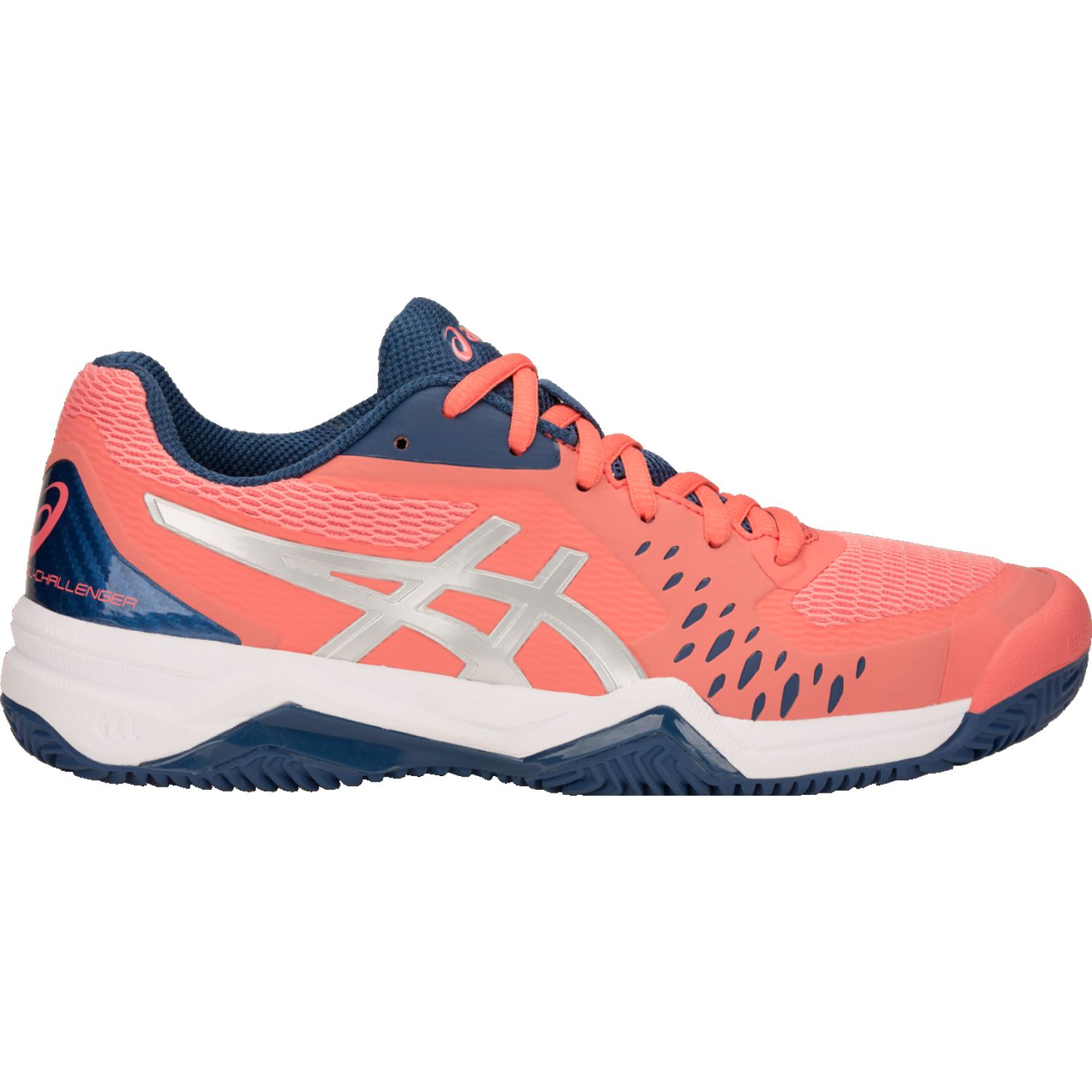 Asics Gel-Challenger 12 Coral / azul Mujeres