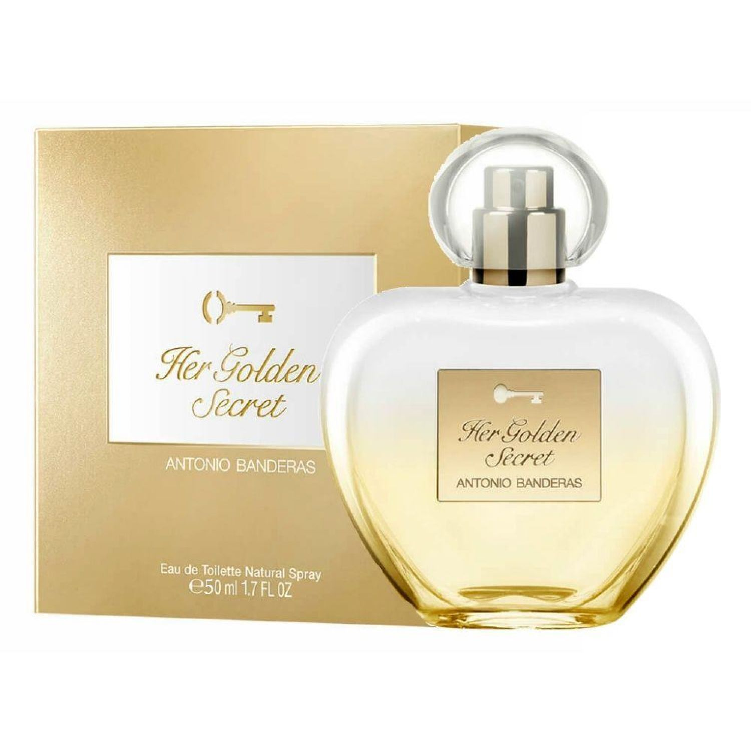 ANTONIO BANDERAS Ab Her Golden Secret  New Edt 50ml Vp Varios Colonia