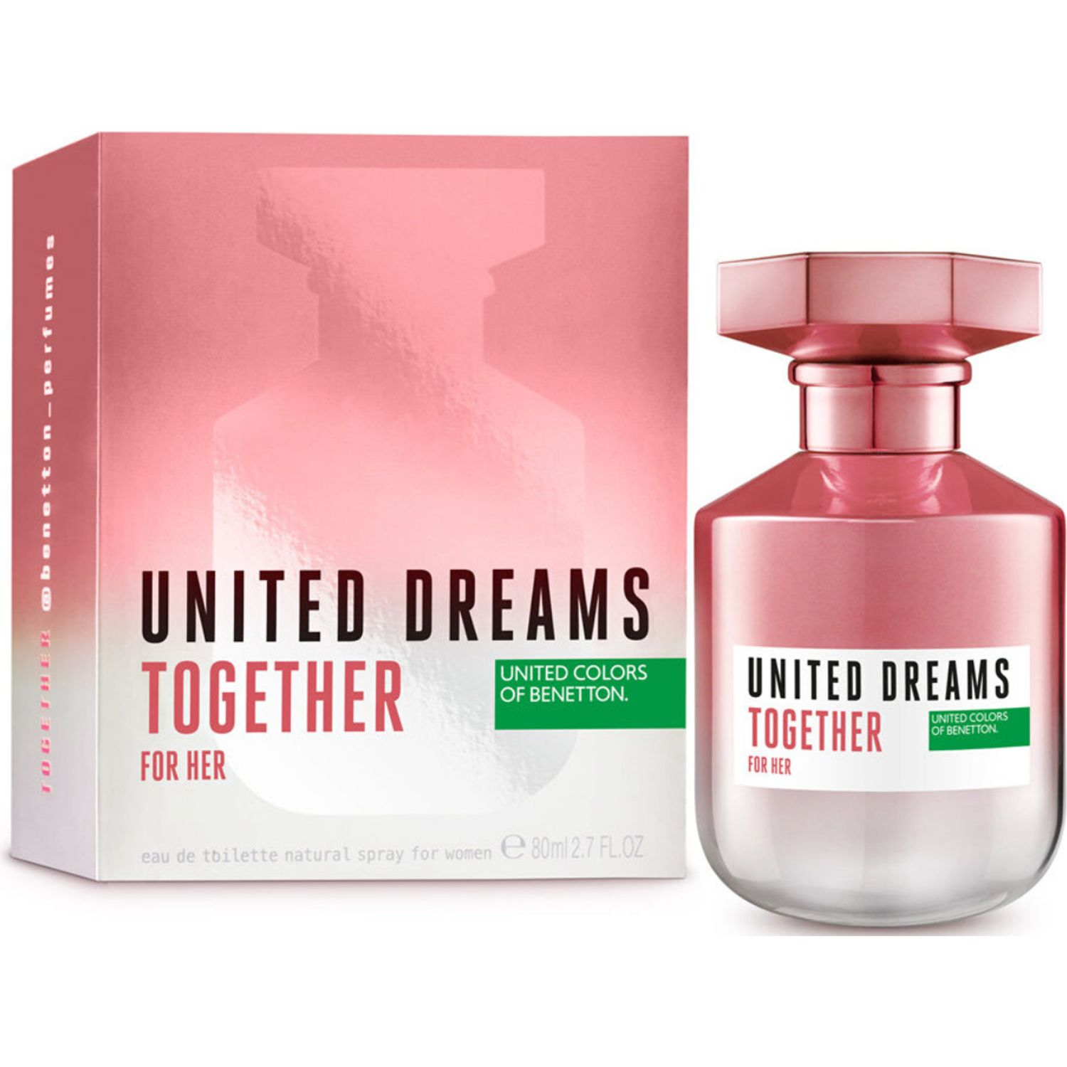 Benetton BNT UD TOGETHER HER HER 50ML VP Varios Colonia
