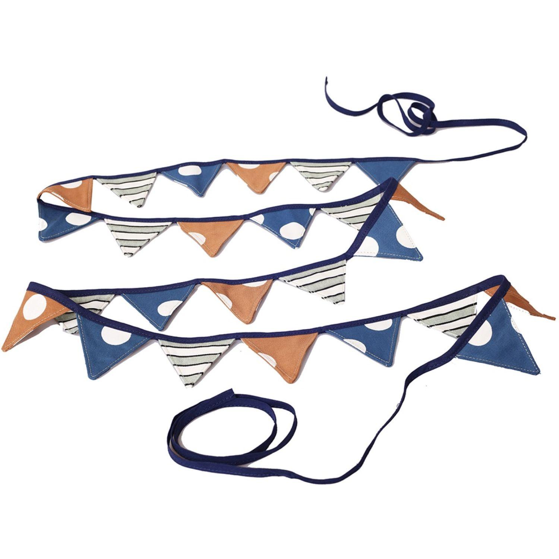 MATRIONA Banderin Niño Azul Banderines y banderas