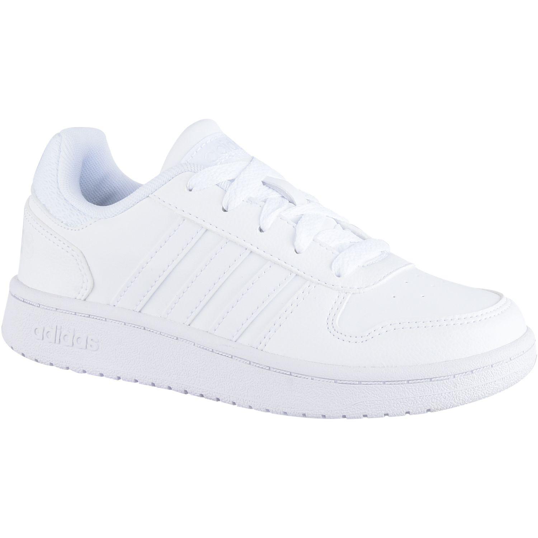 adidas Hoops 2.0 K Blanco Niñas