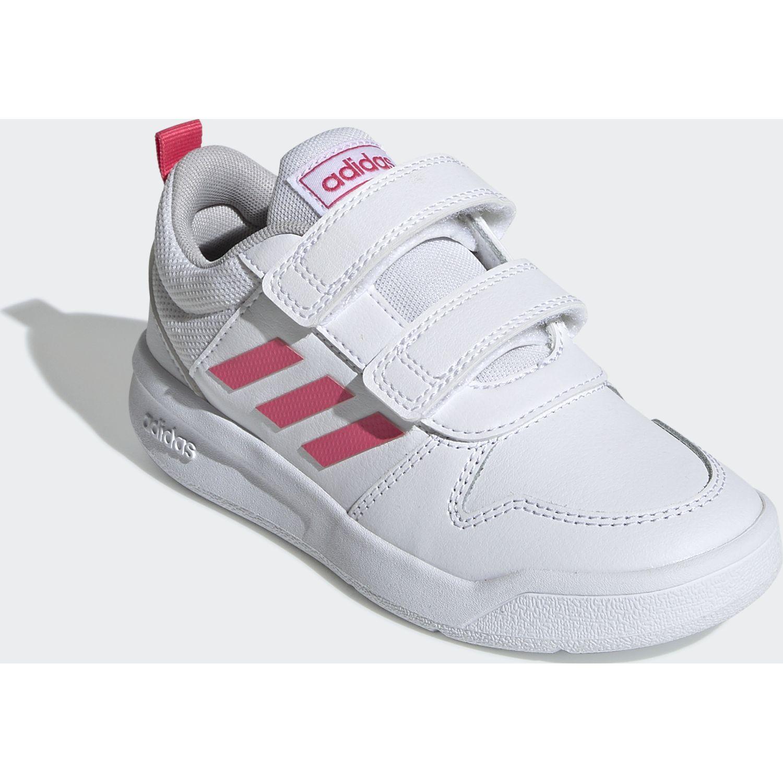 Adidas tensaur c Blanco / fucsia Chicas
