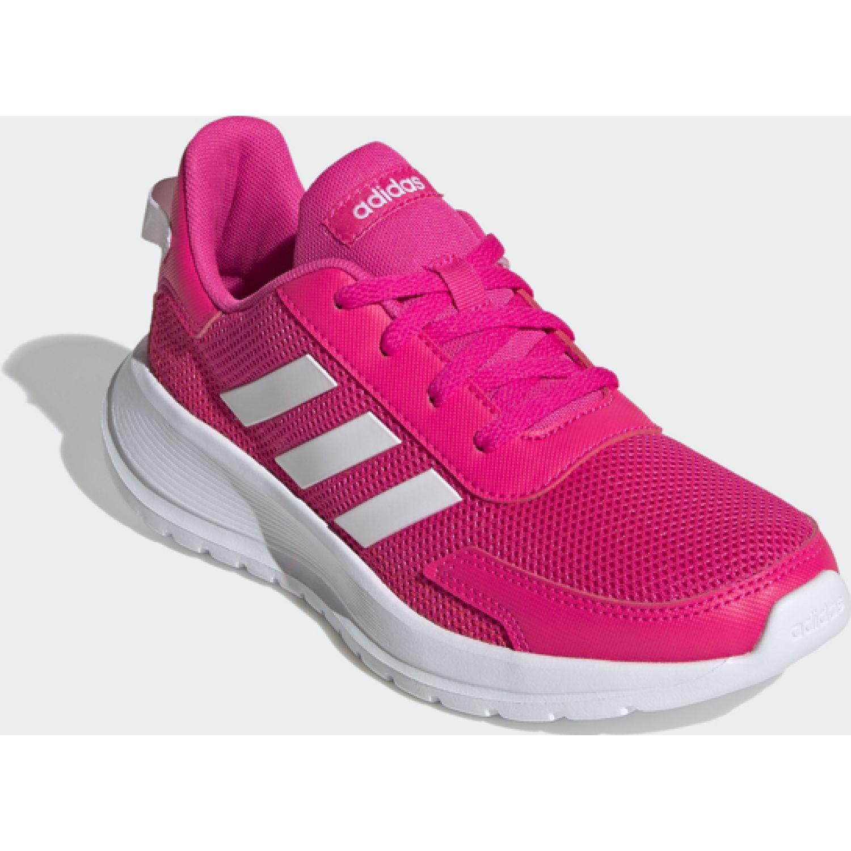 Adidas tensaur run k Fucsia / blanco Chicas