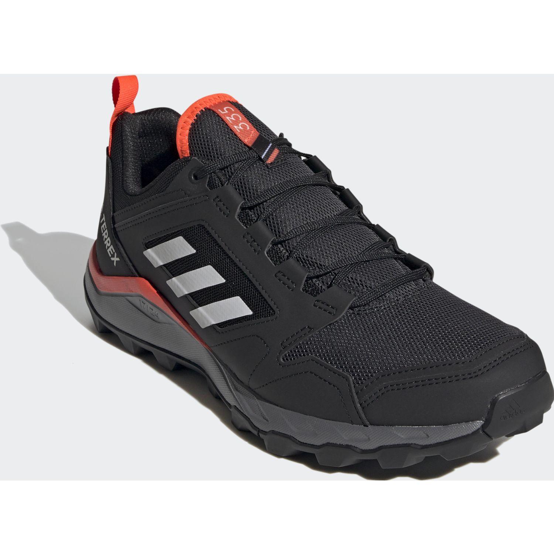 Adidas Terrex Agravic Tr Negro / rojo Zapatos de senderismo
