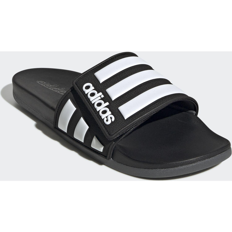 Adidas Adilette Comfort Adj Negro / blanco Sandalias y chanclas deportivas