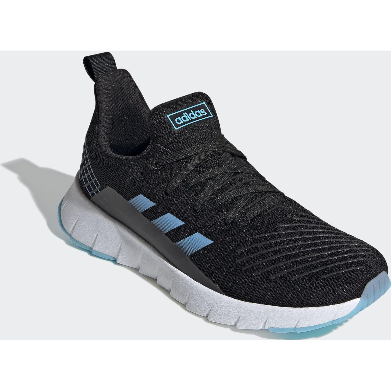 Adidas asweego Negro / celeste Running en pista