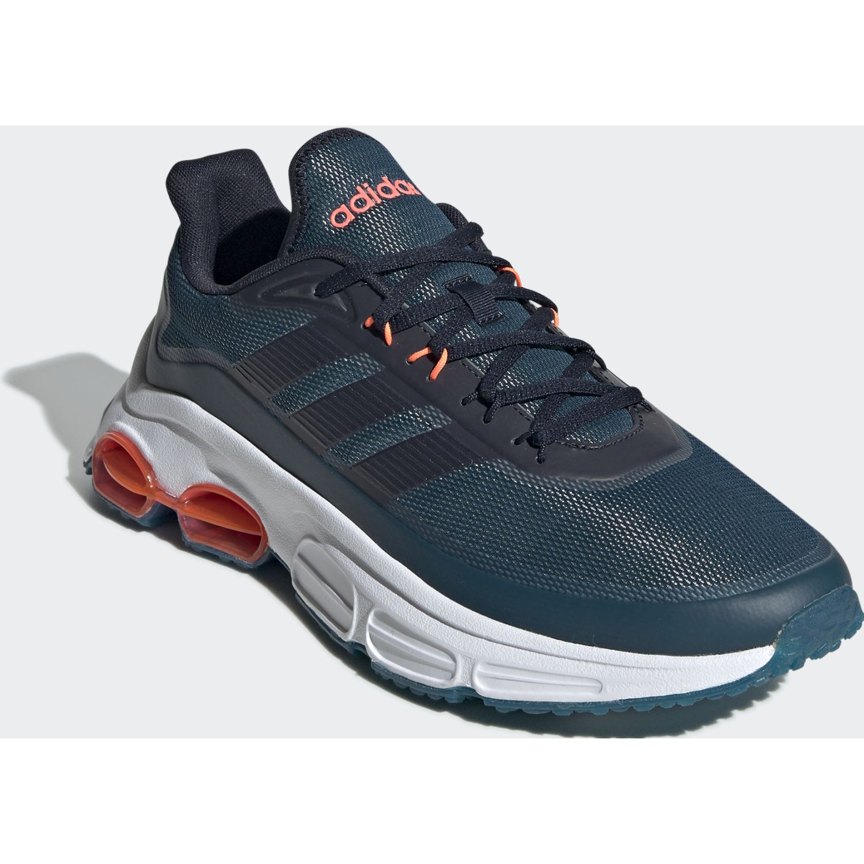 Adidas quadcube Azul Running en pista