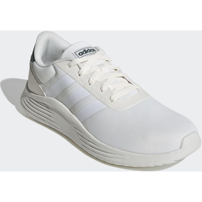 Adidas lite racer 2.0 Blanco / verde Running en pista