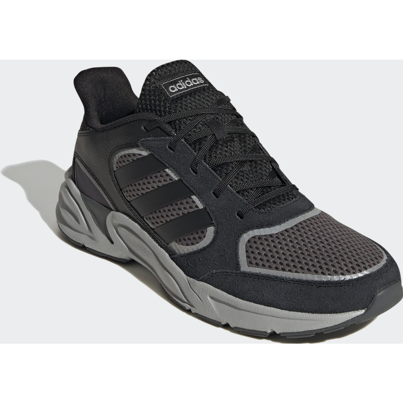 Adidas 90s Valasion NEGRO / GRIS Correr por carretera