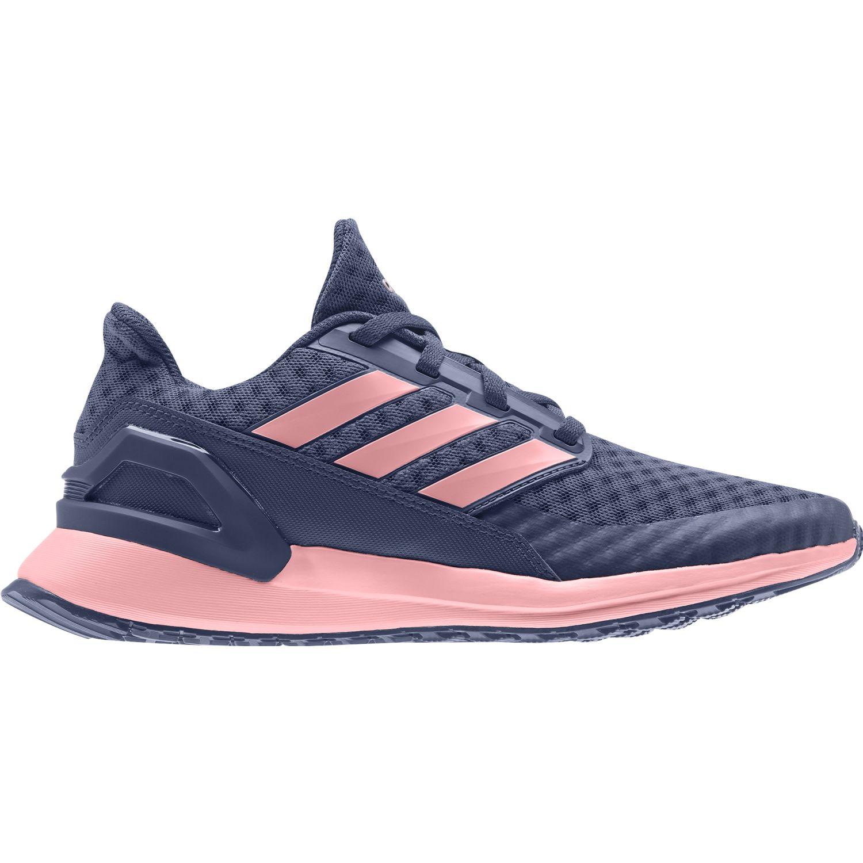 Adidas RapidaRun J Navy / Rosado Chicas