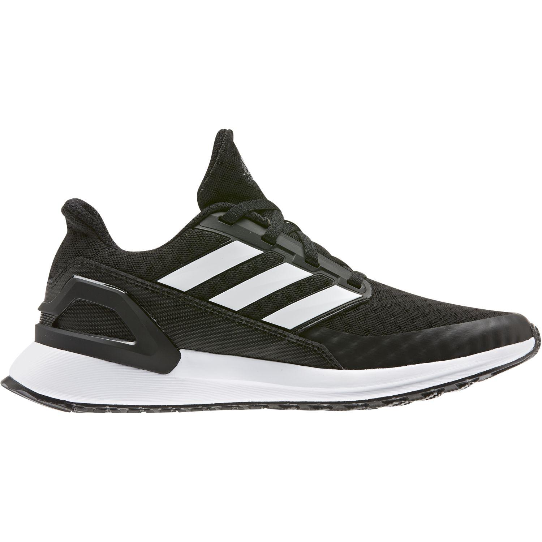 Adidas RapidaRun J Negro / blanco Muchachos