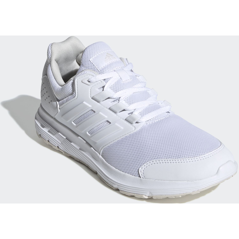 Adidas galaxy 4 Blanco Running en pista | platanitos.com