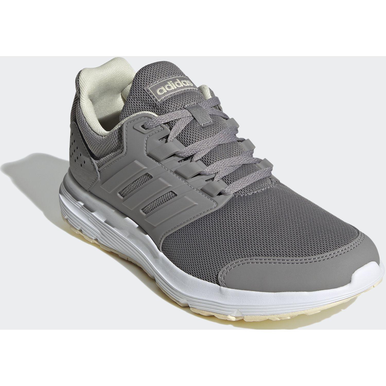 Adidas Galaxy 4 Gris Running en pista