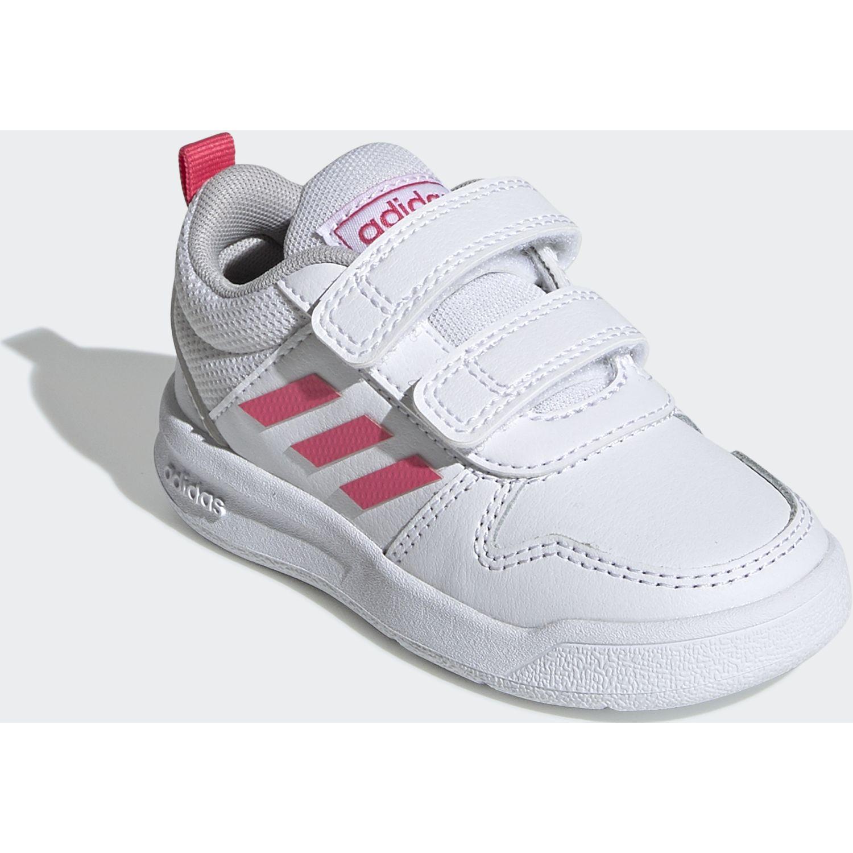 Adidas TENSAUR I Blanco / fucsia Walking