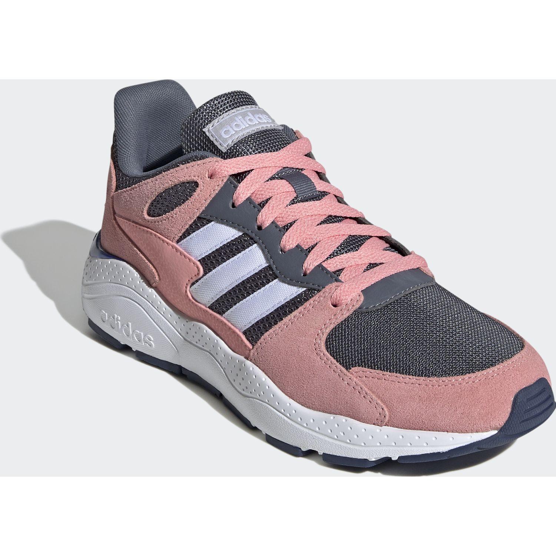 Adidas CRAZYCHAOS Rosado / gris Running en pista