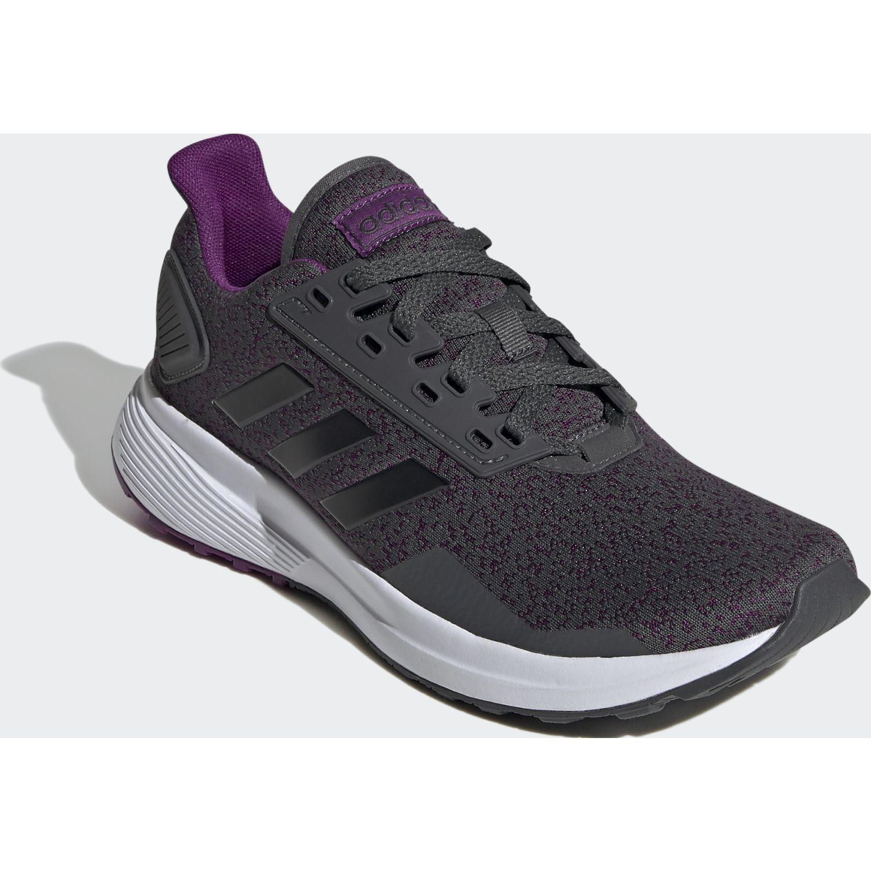 Adidas Duramo 9 Gris / morado Correr por carretera