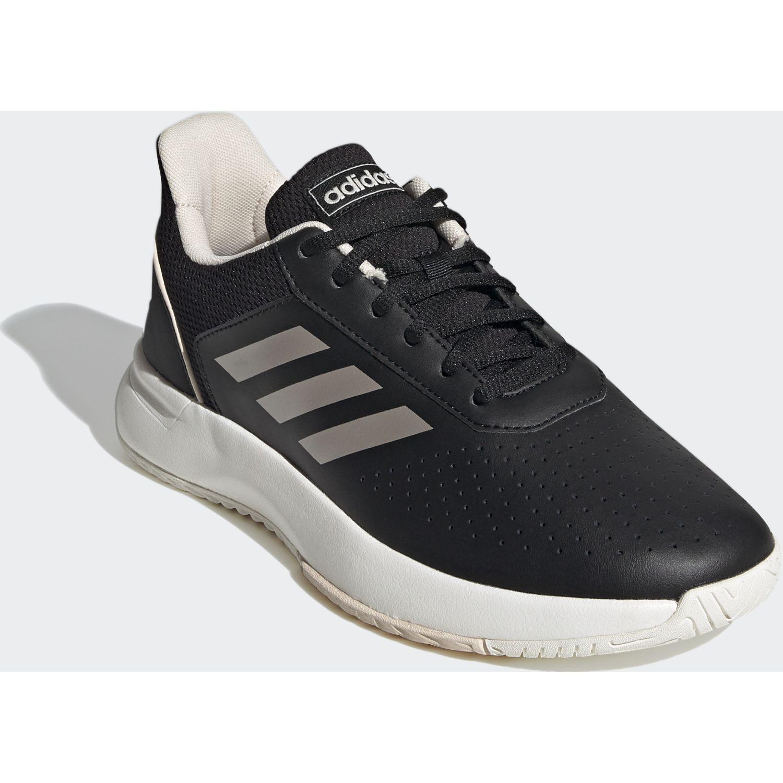 Adidas Courtsmash Negro / plateado Para caminar