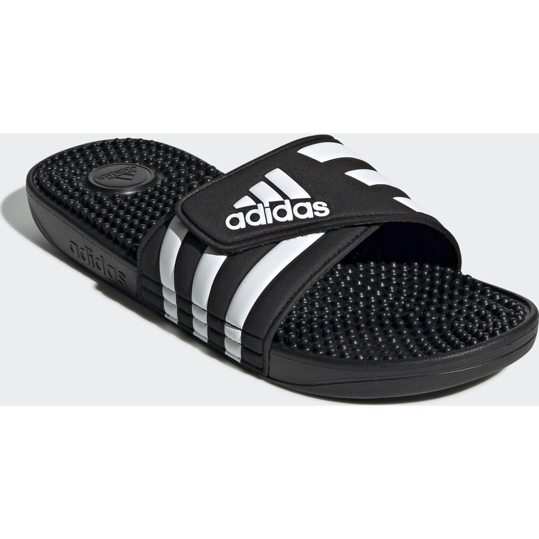 Adidas adissage Negro / blanco Sandalias deportivas y slides