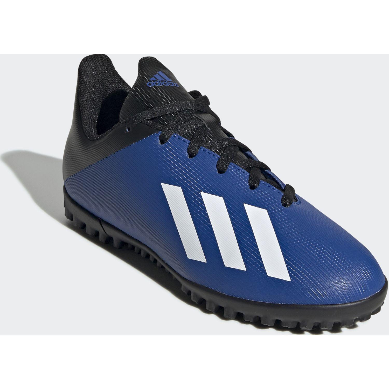 Adidas x 19.4 tf j Azul / negro Muchachos